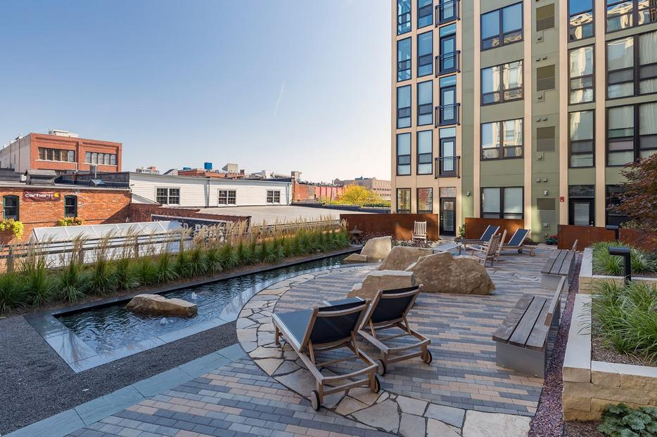 See the Completed Amenity Spaces at Ann Arbor City Apartments