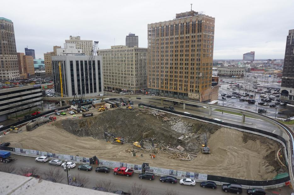 CITY CLUB APARTMENTS BREAKS GROUND ON CITY CLUB - CBD DETROIT