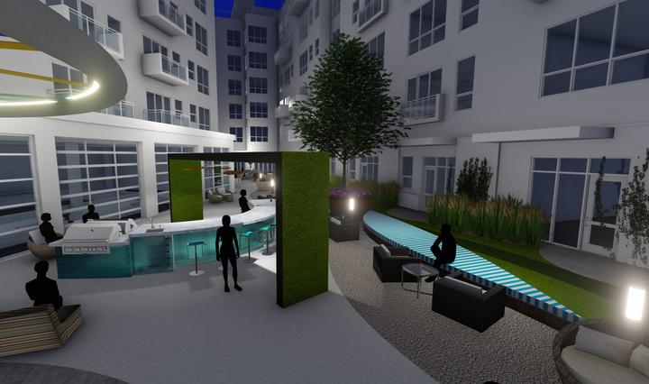Detroit apartment complex to feature market, pet store