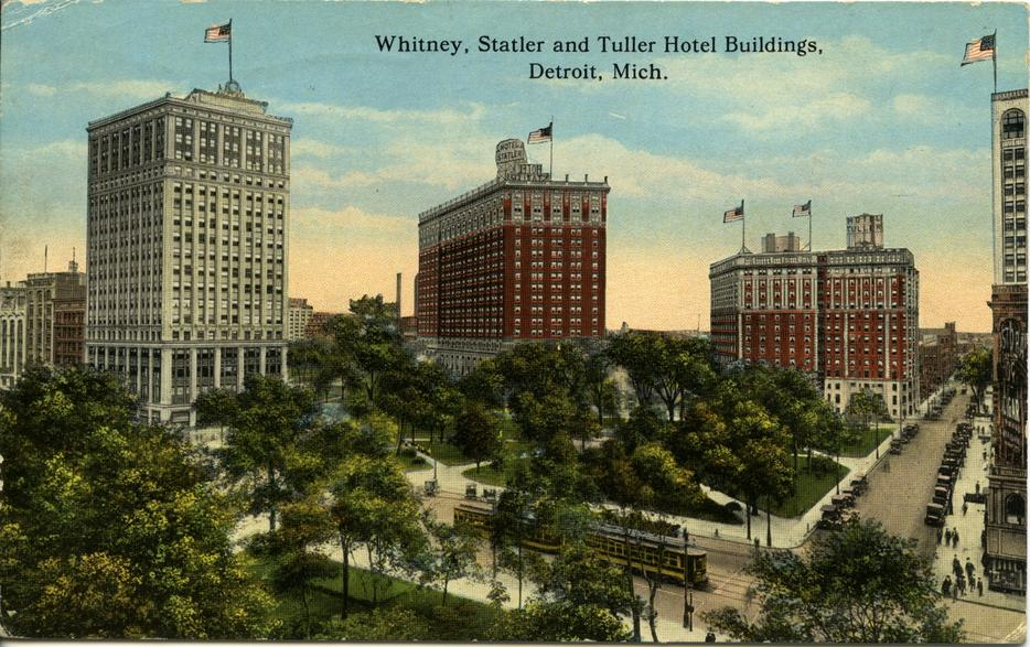 $70M high-rise breaks ground at site of historic Statler Hotel Downtown Detroit