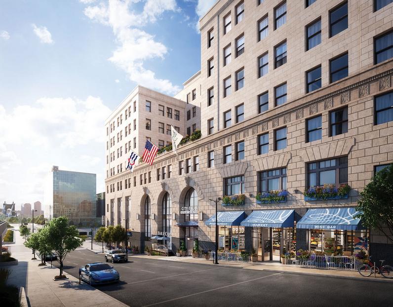 City Club Apartments CBD Cincinnati Press Release