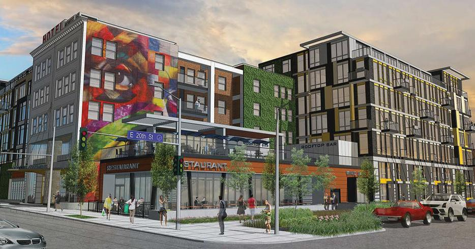 City Club's mixed-use project in Crossroads gets approved