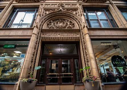 Fisher Building City Club Apartments   Chicago Loop Apartments