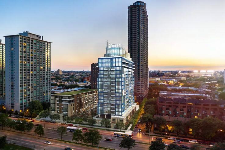 Developer pushes apartment high-rise plan for Lake Shore Drive site