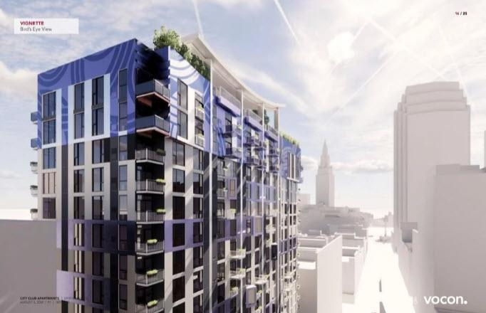 Cleveland planning commission greenlights City Club Apartments tower plan downtown
