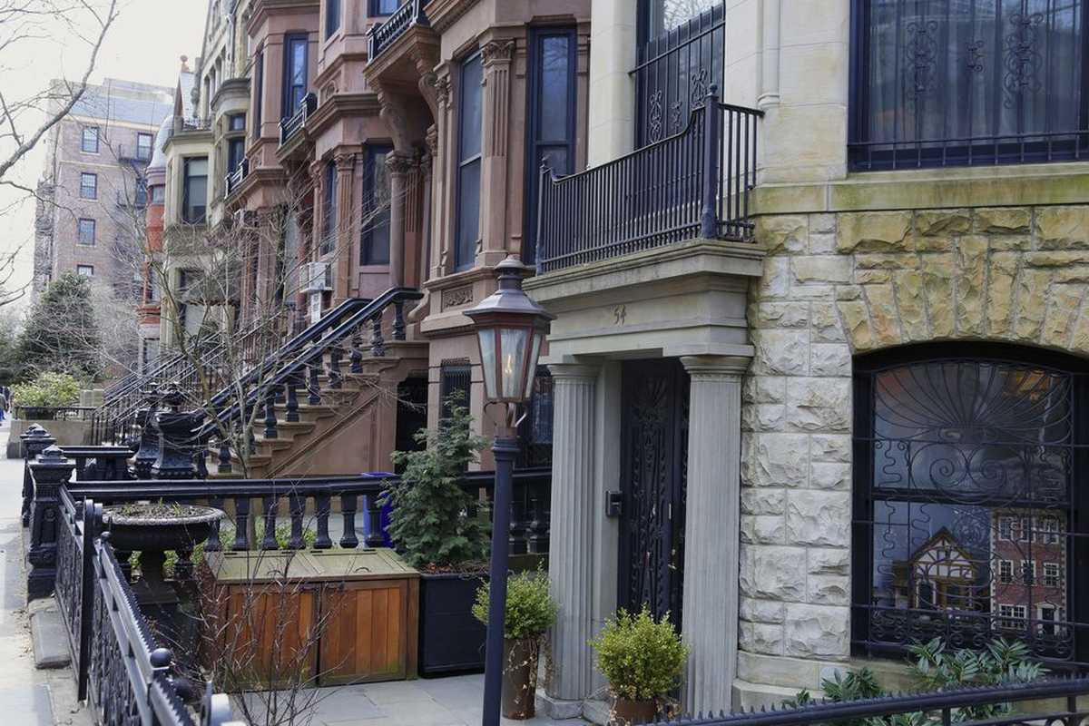Homes in the Park Slope neighborhood